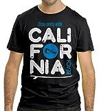 Cressi Herren California T-Shirt, Schwarz, M