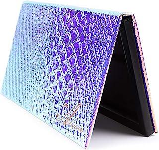 Allwon Magnetisch Palet Zeemeermin Leeg Make-up Palet met Spiegel en 20 Stuks Zelfklevend Leeg Palet Metalen Stickers voor...