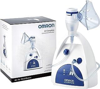 OMRON A3 Complete 3-in-1 aerosolvernevelaar – Voor behandeling van de bovenste, middelste en onderste luchtwegen, geschikt...