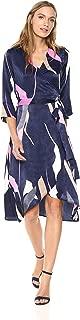 VERO MODA Women's Laksmi 3/4 Sleeve Length Calf Dress