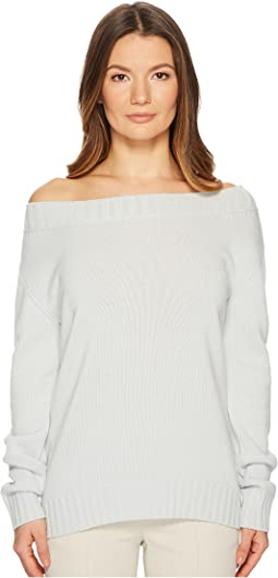 Vince - Off Shoulder Long Sleeve