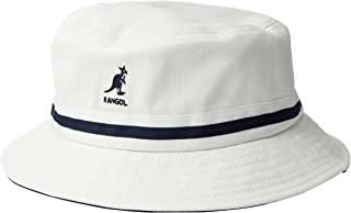 79156b1376e611 Kangol Men's Striped Lahinch Updated Version of the Classic Bucket Hat