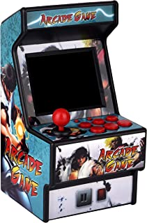 """Golden Security Mini Arcade Game Machine RHAC01 156 Classic Handheld Games Portable Machine for Kids&Adults with 2.8"""" Eye-Protected Colorful Screen&Rechargeable Battery"""