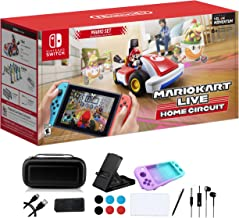 Nintendo - Mario Kart Live: Home Circuit - Mario Set Edition - Christmas Holiday Family Gaming Red Kart for Nintendo Switc...
