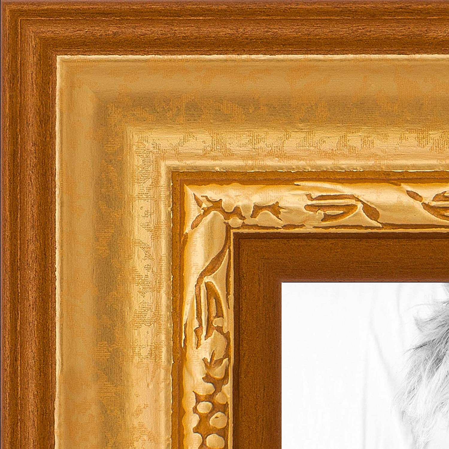 ArtToFrames 4x27 Inch Gold Picture Frame 1.5