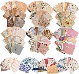 560 Feuilles de Fournitures de Journalisation Vintage Fournitures de Papier de Scrapbooking Antique Papier Décoratif Esthé...