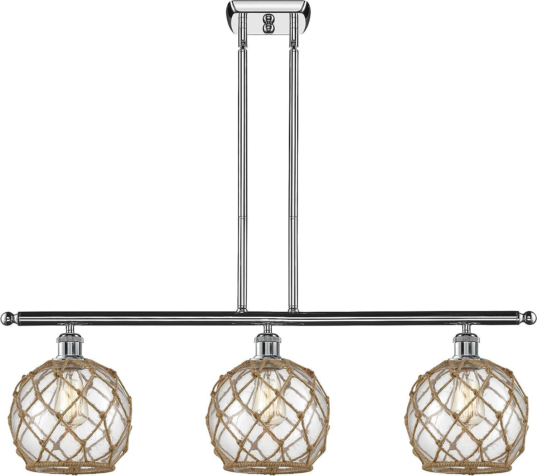 Innovations 516-3I-PC-G122-8RB-LED New Shipping Luxury goods Free Farmhouse Rope Light 3 Island