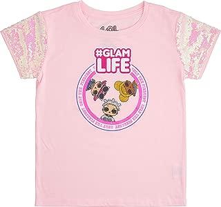 L.O.L. Surprise! Girls' Sequin Short Sleeve T-Shirt