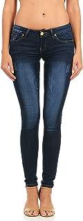 Women's Five Pocket Classic Blue Wash Slim Fit Skinny
