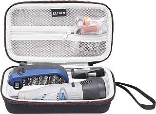 LTGEM EVA Hard Case for Dremel 7700-1/15 MultiPro 7.2-Volt Cordless Rotary Tool Kit (Only a case)