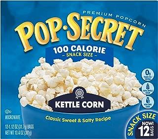Pop Secret Popcorn, Kettle Corn, 3 Ounce Microwave Bags, 12 Count Box, 12 Ct
