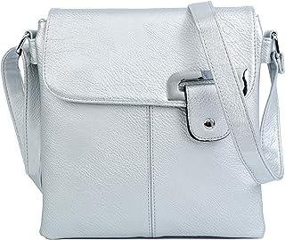 e1d6b4637fa Amazon.co.uk: Silver - Cross-Body Bags / Women's Handbags: Shoes & Bags