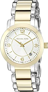 Michael Kors Women's Janey Two-Tone Watch MK3487