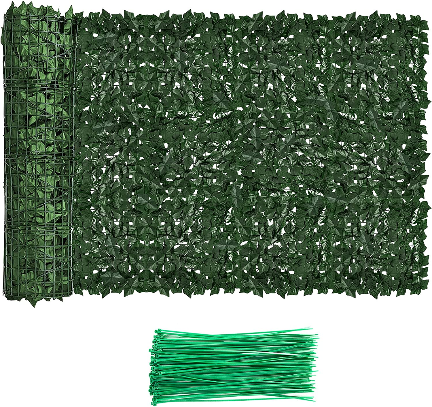 Faux Ivy Beauty products Privacy Fence Screen 2021 Gree Outdoor Expandable Artificial