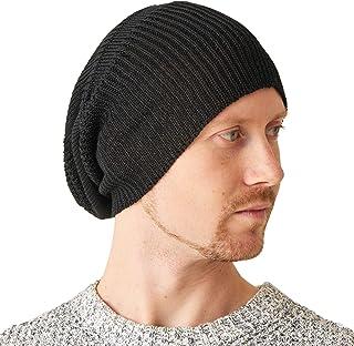 CHARM Silk Slouchy Beanie Womens - Mens Slouch Hat Summer Chemo Cap Silk Knit