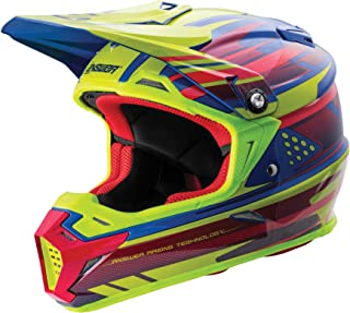 Answer Racing AR-5 Men's Off-Road Motorcycle Helmets - Acid/Blue/Medium