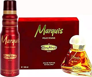 Remy Marquis (Marquis For Women 100 ML EDP + Marquis For Women Body Spray 175 ML)
