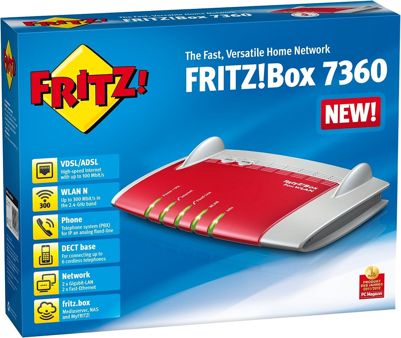AVM FritzBox Fon WLAN 20 international Amazon.de Computer ...