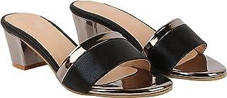 Do Bhai Casual Wear Block Heels Fashion Sandal For Women