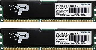 Patriot デスクトップ用メモリ DDR3 1600MHz PC3-12800 8GB (4GBx2枚組) CL11 ヒートシンク付 - PSD38G1600KH