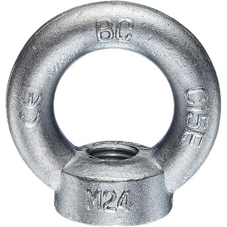 2 St/ück Ringmuttern M8 gegossen u poliert /ähnl DIN 582 Edelstahl A2