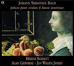 Bach: Pièces pour violon & basse continue