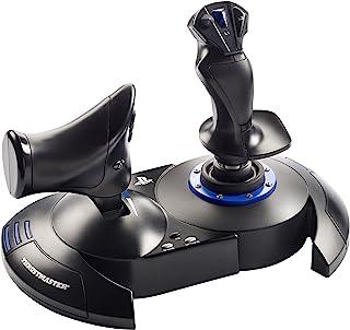Thrustmaster T.FLIGHT HOTAS 4 - Joystick - PS4 y PC - Mando de potencia realista y ergonomico - Licencia Oficial Playstation