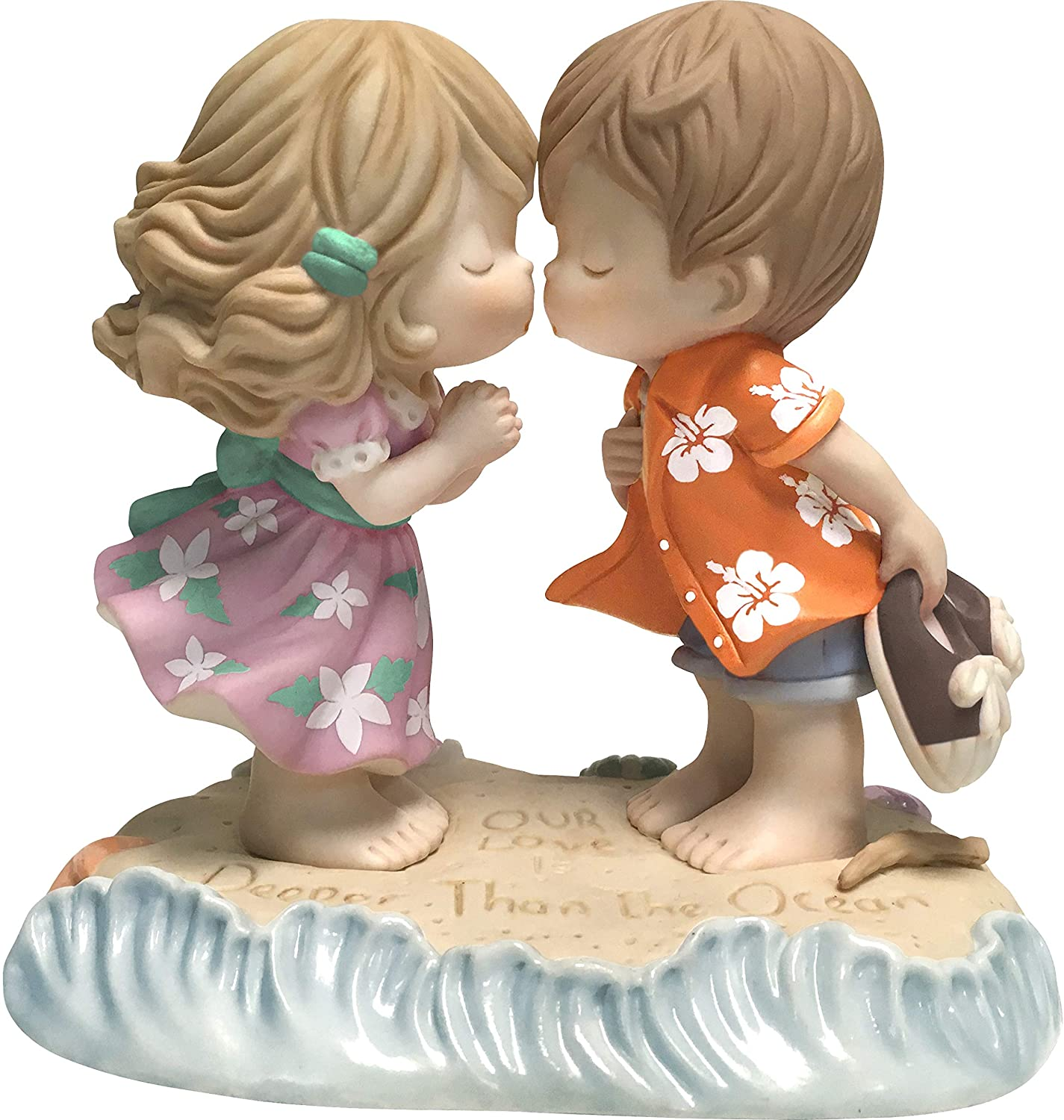Precious Moments Love is Deeper Max 74% OFF Bisque Max 88% OFF Ocean The Than Porcelain