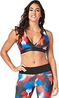 Zumba Women's V Neck Bra