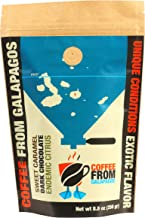 Galapagos Coffee Roasters Coffee Beans, Dark Roast, 8.8 oz