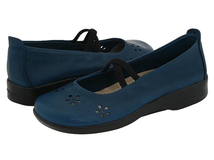 Arcopedico  Flower (Indigo Leather) Womens Maryjane Shoes
