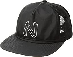 Nixon Crater Split Mesh Trucker Hat