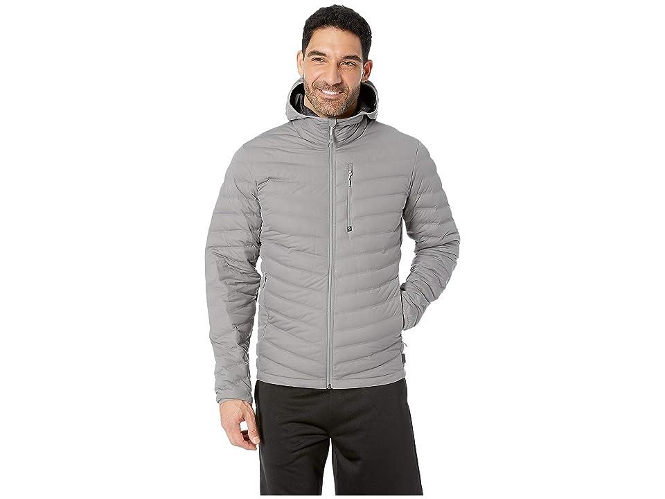 Mountain Hardwear StretchDown Hooded Jacket (Manta Grey) Men
