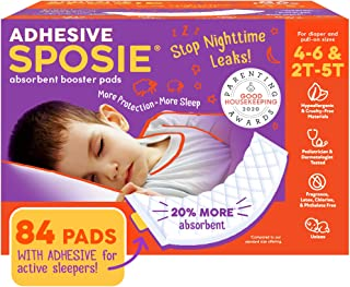 Sposie, Stops Nighttime Diaper leaks, Extra Overnight Protection for Heavy Wetters and Potty Training, Fits Diaper Sizes ...