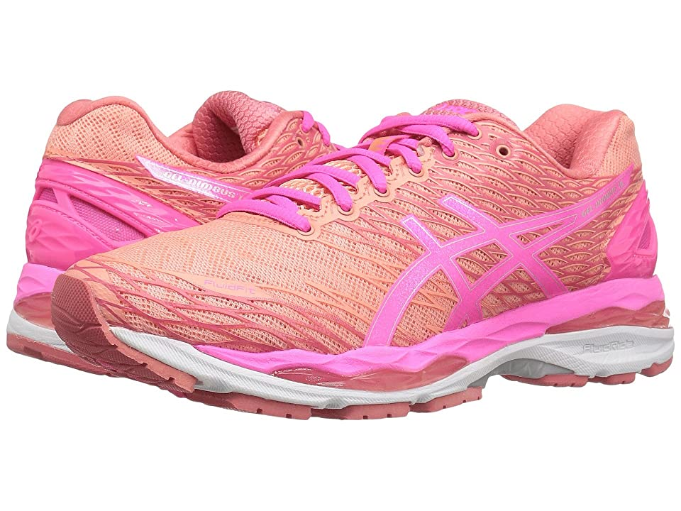 ASICS Gel-Nimbus(r) 18 (Peach/Hot Pink/Guava) Women