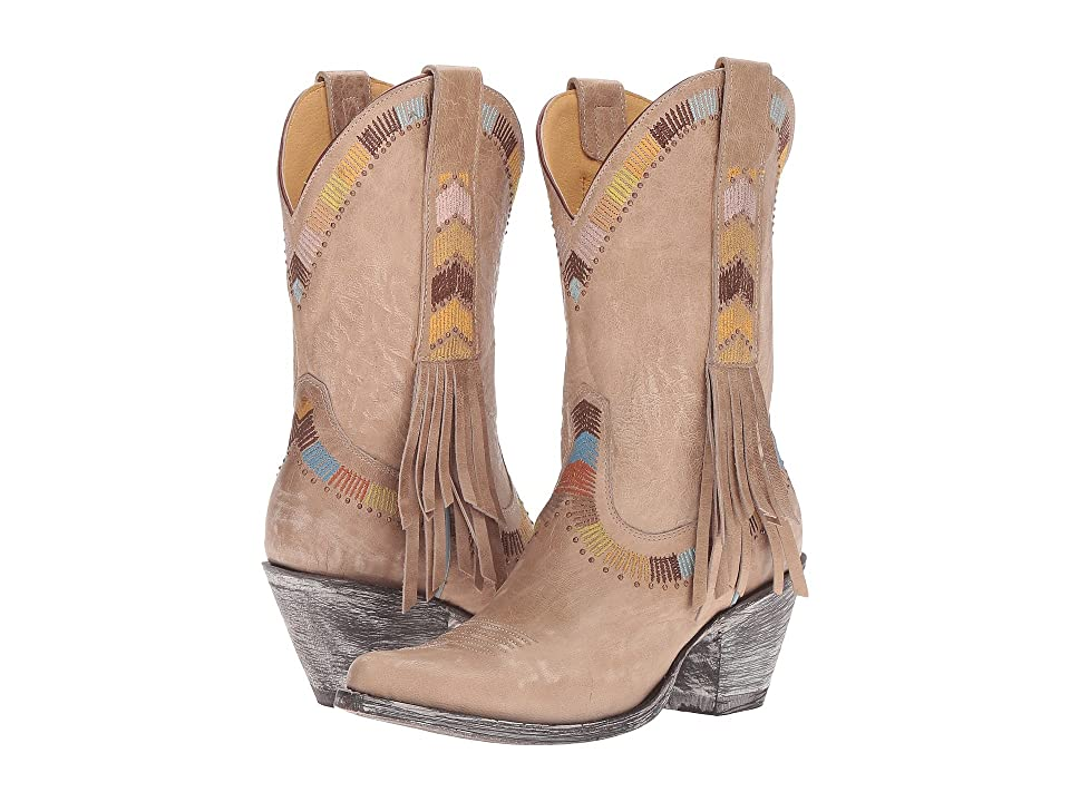Old Gringo Persefone (Bone) Cowboy Boots