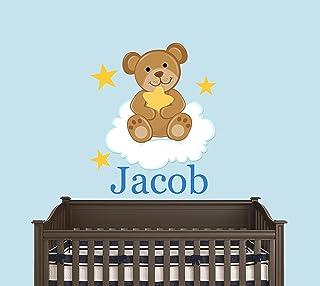 Rainbow Teddy Bear Mobile Vintage 1984 Jolly Jumper Wall Hanging Stuffed Plush Animal Babys Room Nursery Decor Bears