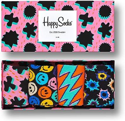 4 Pack Happy Socks Women/'s Nautical Gift Box