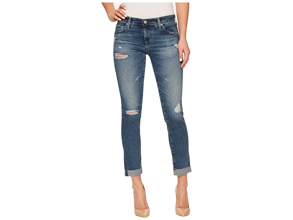 AG Adriano Goldschmied Stilt Roll Up in 13 Years Hunter Blue (13 Years Hunter Blue) Women's Jeans