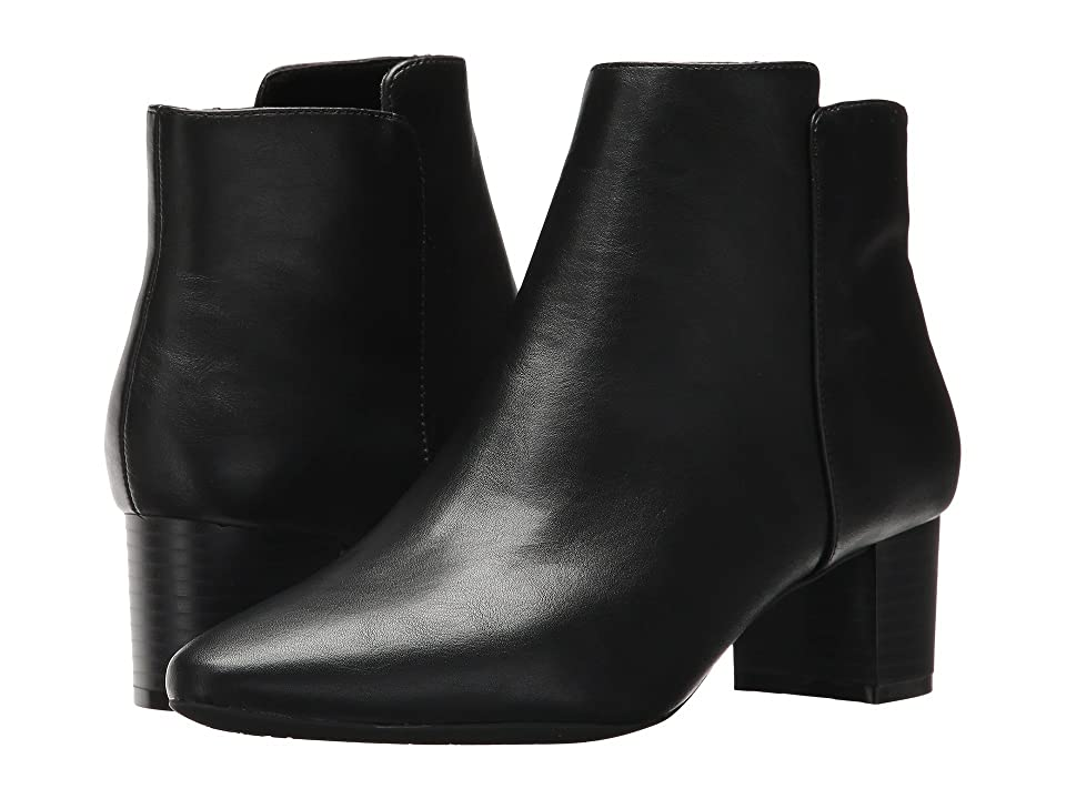 Rockport Caden 2-Part Bootie (Black Smooth) Women