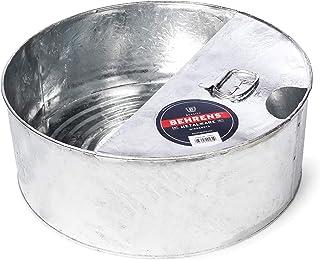 Behrens Galvanized Steel Drain Pan, 8-Gallon