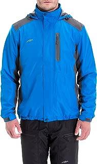 Trailside Supply Co.Men's Mountain Waterproof Ski Jacket Windproof Rain Jacket Hoodie