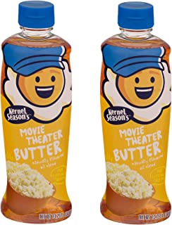 KERNEL SEASONS Movie Theater Butter Popcorn Popping & Topping Oil, 13.75 Oz (Pack of 2)