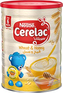 Nestle Cerelac Infant Cereal Wheat & Honey Tin 1kg