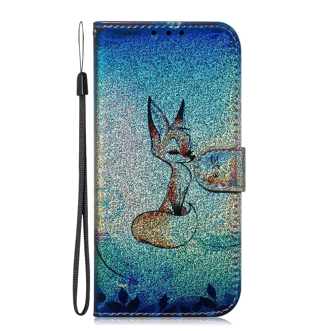 ウミウシ賞賛する発送Docrax Huawei Mate20 ケース 手帳型 スタンド機能 財布型 カードポケット マグネット ファーウェイMate20 手帳型ケース レザーケース カバー - DOTXI150436 D3