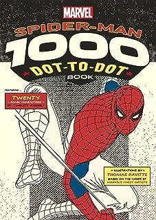 Marvel: Spider-Man 1000 Dot-to-Dot Book