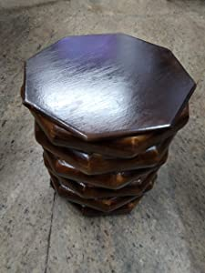 Wooden Small Stool/Table for Home and Decorate (Size 8 by 9 inch.)