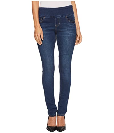 Jag Jeans Petite Nora Pull-On Skinny Butter Denim in Flatiron (Flatiron) Women