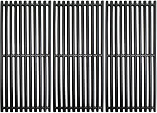 Grill Valueparts Grates for Charbroil 463241314, 463241313, 463247109, 466241313, 466241314, 466242014, 466242314, Tru-Infrared 3 Burner Grills - Matte Enamel Cast Iron Cooking Grates 18 1/4 x 24 3/4