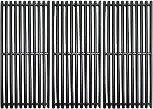 Grill Valueparts Grates for Charbroil 463241314, 463241313, 463247109, 466241313, 466241314, 466242014, 466242314, Tru-Infrared 3 Burner Grills - Matte Enamel Cast Iron Cooking Grates 18 1/4 x 24 3/4